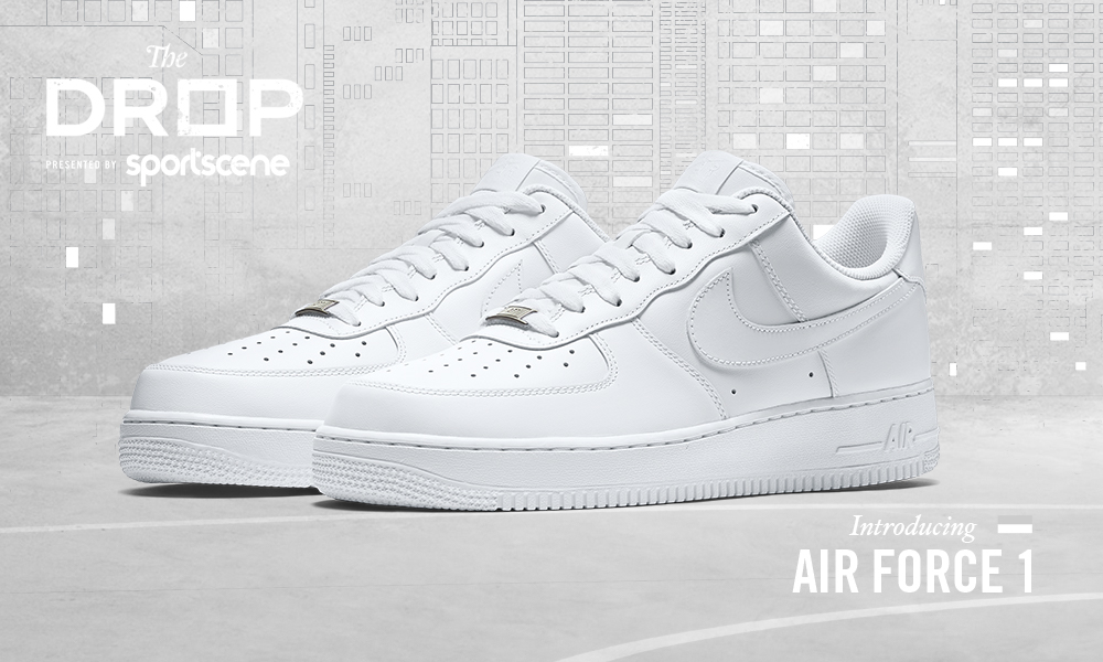 THE DROP: NIKE AIR FORCE 1 '07