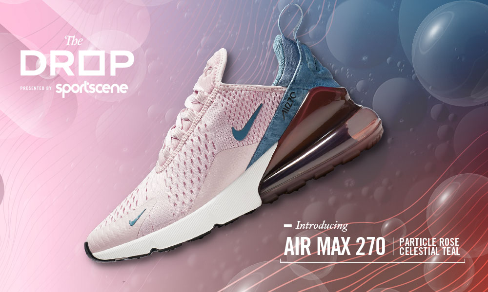 huge discount 28c8c d7c7c The Nike Air Max 270 women s sneaker delivers visible cushioning under  every step you take. Its Neoprene stretch bootie delivers a snug fit and  the 3-piece ...