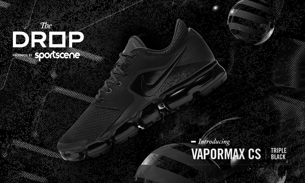"THE DROP | INTRODUCING NIKE AIR VAPORMAX ""TRIPLE BLACK"""