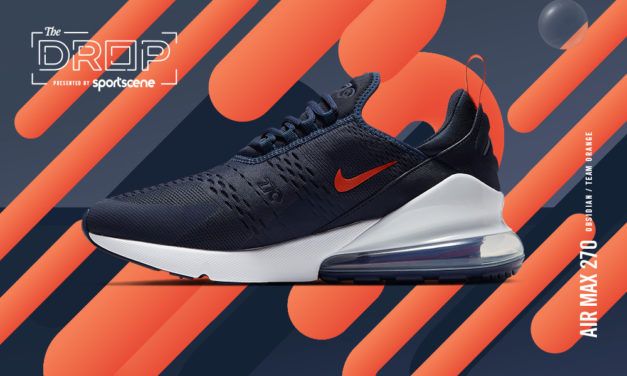 The Drop | INTRODUCING Air Max 270 Navy/Orange