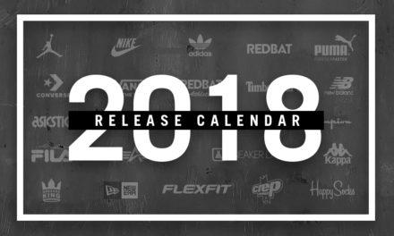 2018 Sneaker Release Guide