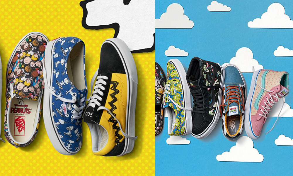 8ab97177d0 Vans collabs with Peanuts and Toy Story Images via Highsnobiety