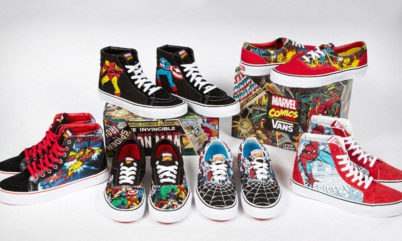 Vans X Marvel 2013 Image via Highsnobiety