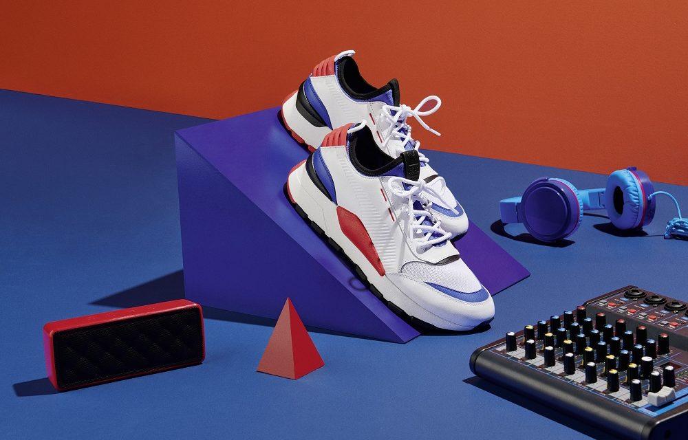 80s music vibes for the new PUMA RS-0 Sound | Sportscene SA Blog