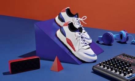 '80s music vibes for the new PUMA RS-0 Sound