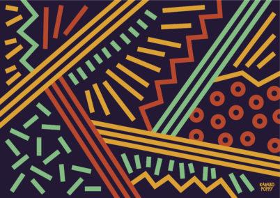 Karabo Poppy Pattern design