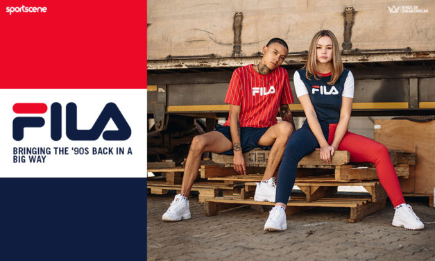 Back to the '90s – FILA's throwing it back to your fave retro styles