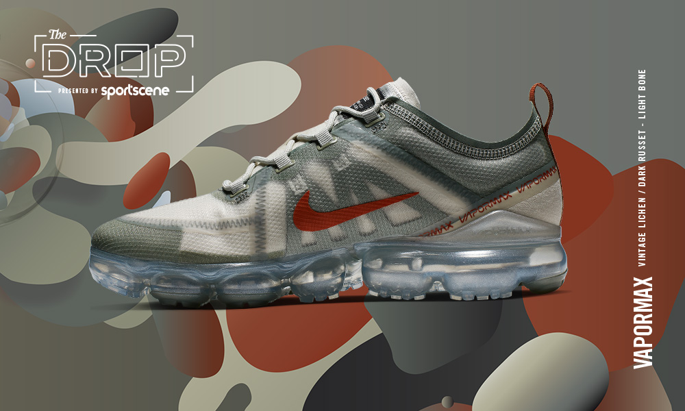 The Drop | Introducing Nike Air VaporMax 2019 Vintage Lichen/Light Bone/Dark Russet