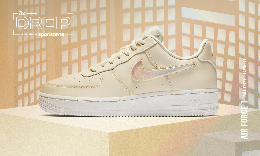 more photos f6625 f8f33 The Drop   Nike Air Force 1  07 SE Premium  Pale Ivory Guava