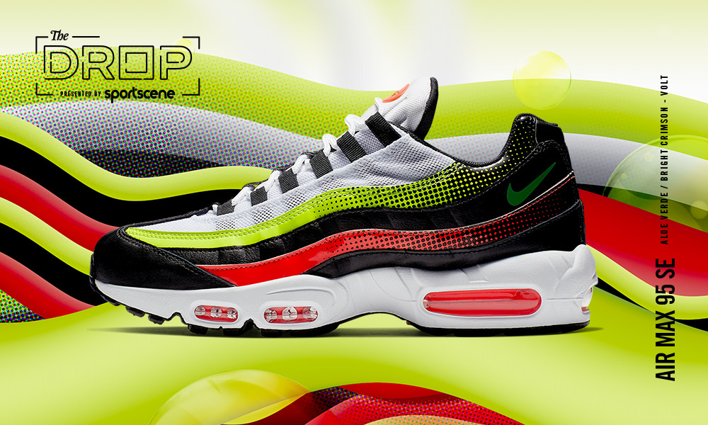 AIR MAX 95 SE BLACK BRIGHT CRIMSON VOLT