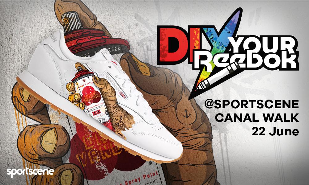 DIY: Customise sneakers with Reebok