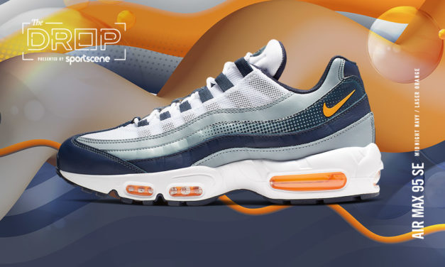 The Drop | Nike Air Max 95 'Navy/Orange'