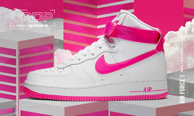The Drop | Nike Air Force 1 High White/Pink