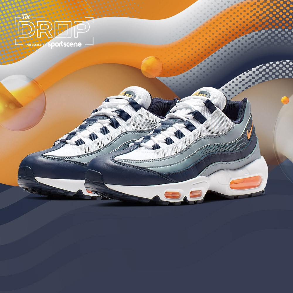 The Drop | Nike Air Max 95 'Navy/Orange