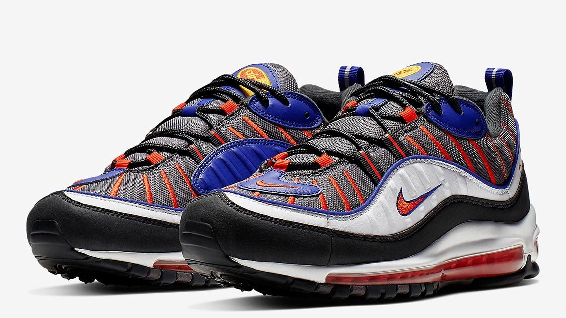 "Nike Air Max 98 ""Team Orange"" – 640744-012"
