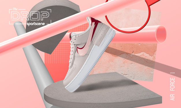 sportscene presents The Drop: Nike Air Force 1 Shadow