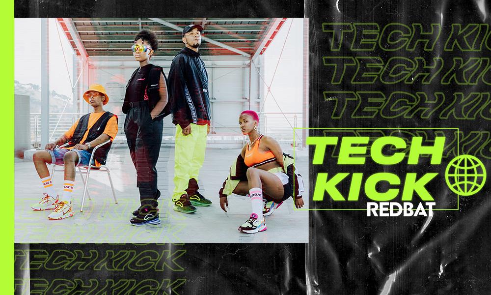 Look book: Redbat Tech Kick
