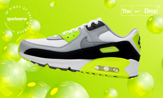 RETRO STYLE. REVOLUTIONARY COMFORT. THE DROP IS HERE – GET TO KNOW NIKE AIR MAX 90 VOLT