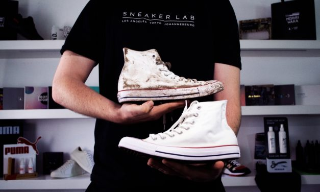 Powered by SneakerLab: How To Clean White Converse