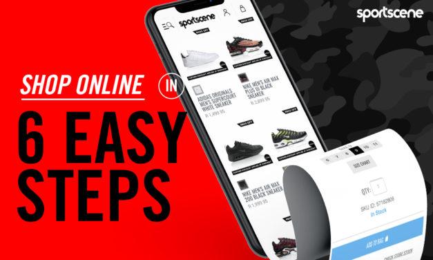 Shopping online at sportscene – a beginners guide