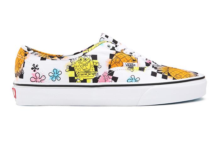 Vans x Spongebob  Authentic – VN0A5HZSZAS1