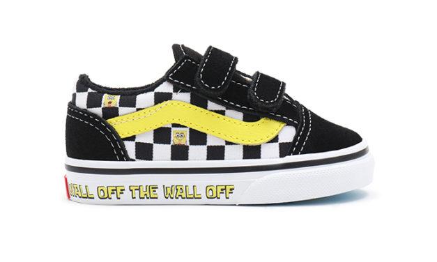Vans x Spongebob Toddlers Old Skool – VN000D3Y9EK1