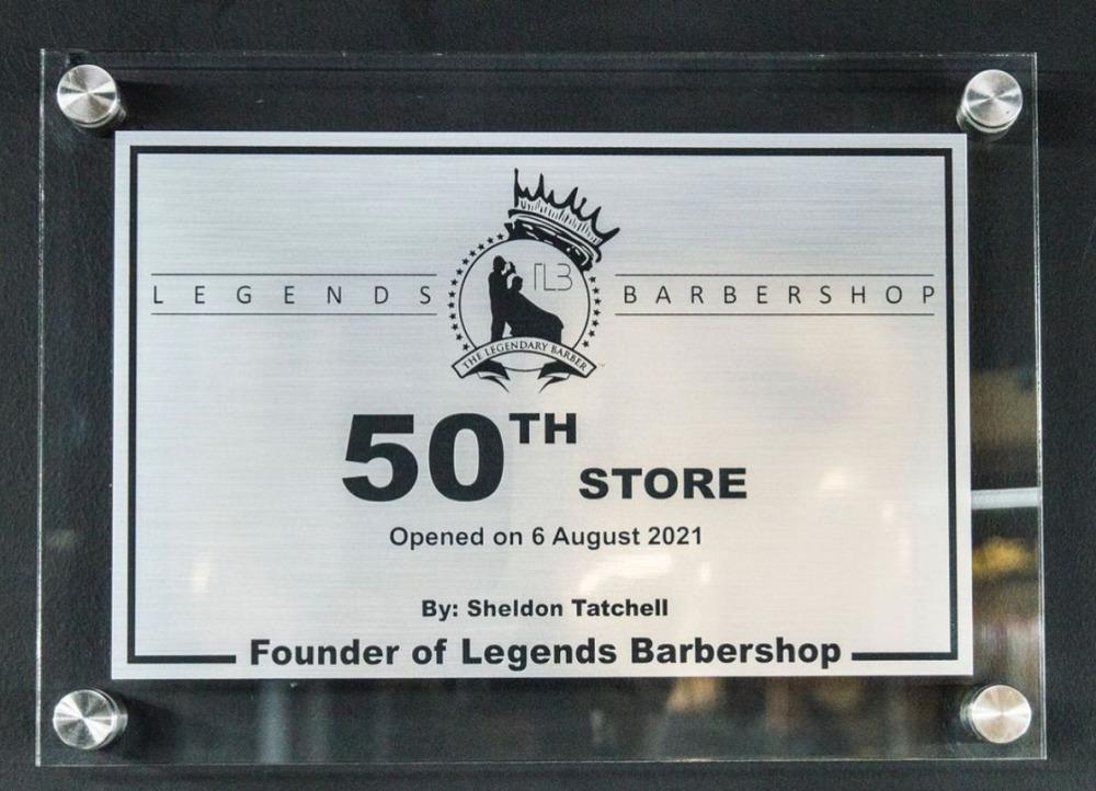 19. Legends Barber